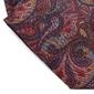 Elegancki fular jedwabny hemley w bordowoczerwony wzór
