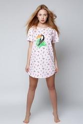 Koszula nocna sensis tukan różowy onesize
