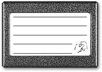 Aco cdn-5nacc gr listy lokatorów ok. 5 wpisów z wbudowanym czytnikiem breloków zbliżeniowych - możliwość montażu - zadzwoń: 34 333 57 04 - 37 sklepów w całej polsce