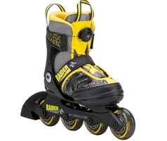 Rolki k2 raider boa boys  czarno-żółte