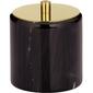 Marmurowy pojemnik na płatki kosmetyczne - waciki liron kela ke-20015