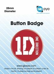 One Direction Logo - przypinka