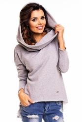 Melanż bluza z kapturem hoodie
