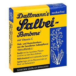 Dallmanns cukierki z szałwią bez cukru