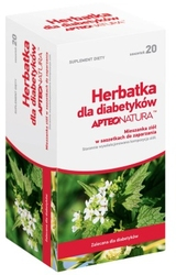 Apteo natura herbatka dla diabetyków x 20 saszetek