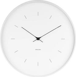 Zegar ścienny Butterfly biały 37,5 cm