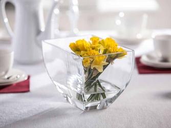Wazon szklany na kwiaty edwanex bogusia 16 cm