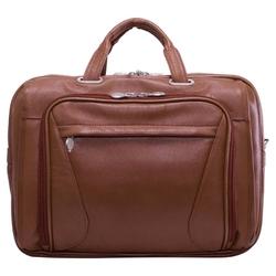 Skórzana torba na laptopa 15,4 mcklein irving park 15575 brązowa - brązowy