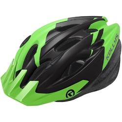 Kask rowerowy kellys blaze green matt, rozmiar ml
