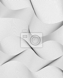 Naklejka krzywego linie, stylowe abstrakcyjne tło