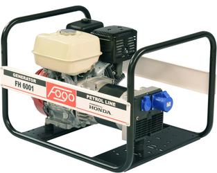 Agregat prądotwórczy FOGO FH 6001 6kVA - Szybka dostawa lub możliwość odbioru w 39 miastach
