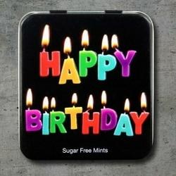 Miętówki happy birthday