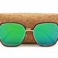 Okulary przeciwsłoneczne sześciokątne lustrzane damskie glam std-84