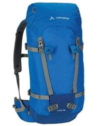 Wytrzymały plecak turystyczny vaude croz 38+8 - niebieski