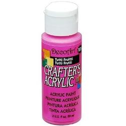 Farba akrylowa Crafters Acrylic 59 ml- tutti frutti - TTT