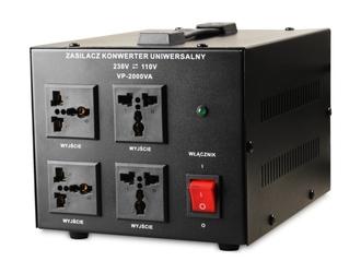 Transformator 230v110v 2000va - szybka dostawa lub możliwość odbioru w 39 miastach
