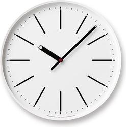 Zegar ścienny dot biały