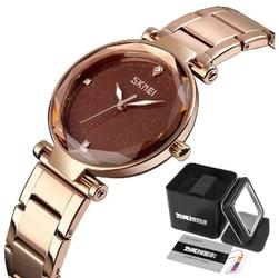 Zegarek damski skmei 9180 złoty klasyczny