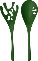 Łyżki do sałaty Shadow zieleń leśna