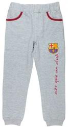 Spodnie fc barcelona szare 10 lat