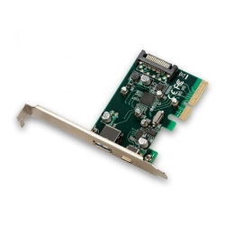 I-tec adapter pci-e usb 1xusb-a1xusb-c1xsata