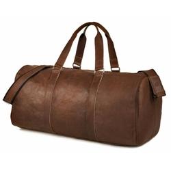Brązowa vintage podróżna torba weekendowa brodrene bl20
