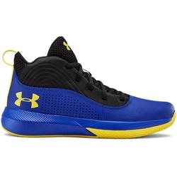 Buty koszykarskie dziecięce ua gs lockdown 4 - niebieski