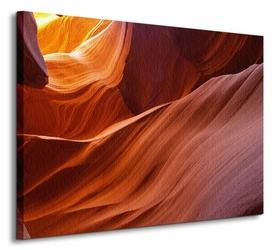 Wąski Kanion - Obraz na płótnie