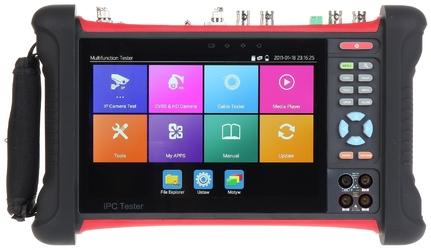 Wielofunkcyjny tester cctv cs-h8f-70hq ekran retina 1920x1200 - szybka dostawa lub możliwość odbioru w 39 miastach