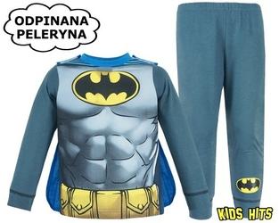 Piżama z peleryną batman gotham knight 7-8 lat