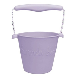 Zwijane wiaderko silikonowe scrunch-bucket, lila
