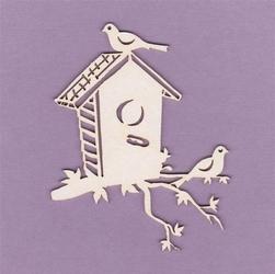 Budka z ptaszkami 6x8 cm - 02