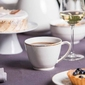Duża filiżanka do kawy i herbaty porcelana mariapaula nova ecru złota linia jumbo 400 ml