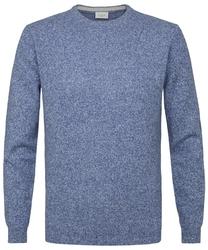 Sweter niebieski melanż s