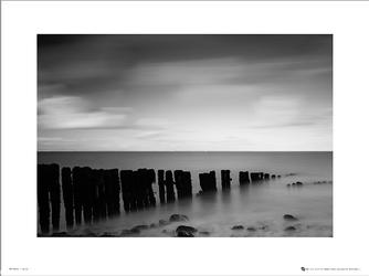 Tom Mackie Sea Grey - plakat premium