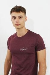 Orlovski sign burgund koszulka męska