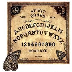 Spirit board - tablica do rozmowy z duchami w kolorze sepii