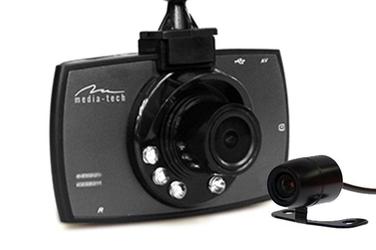 System 2 kamer samochodowych u-drive dual media tech mt4056