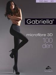 Gabriella microfibre 3d 119 5-xl 100 den rajstopy