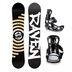 Zestaw snowboardowy raven relict 2021 + raven ft 270 black
