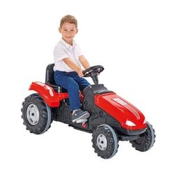 Traktor na pedały woopie mega czerwony