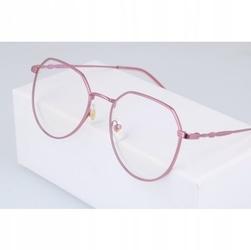 Okulary lenonki z filtrem światła niebieskiego do komputera zerówki 2537-5