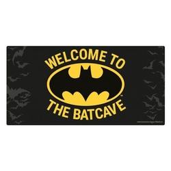 Batman welcome to the batcave - metalowy znak