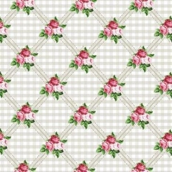 Papier 20,3x20,3 Shabby Chic small roses - 1 szt. - 162