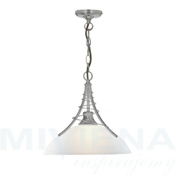 Linea lampa wisząca 1 stal szkło