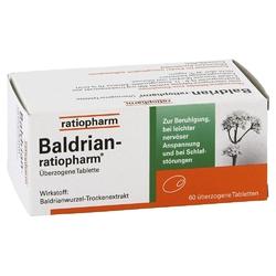 Baldrian ratiopharm tabletki powlekane