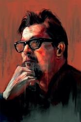 Gary oldman - plakat premium wymiar do wyboru: 29,7x42 cm