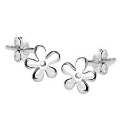 Staviori kolczyki kwiatki. srebro 0,925. średnica 6 mm