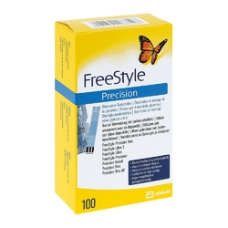 Freestyle precision  testy paskowe do mierzenia poziomu cukru we