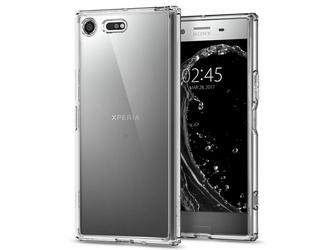 Etui Spigen Ultra Hybrid Sony Xperia XZ Premium Crystal Clear